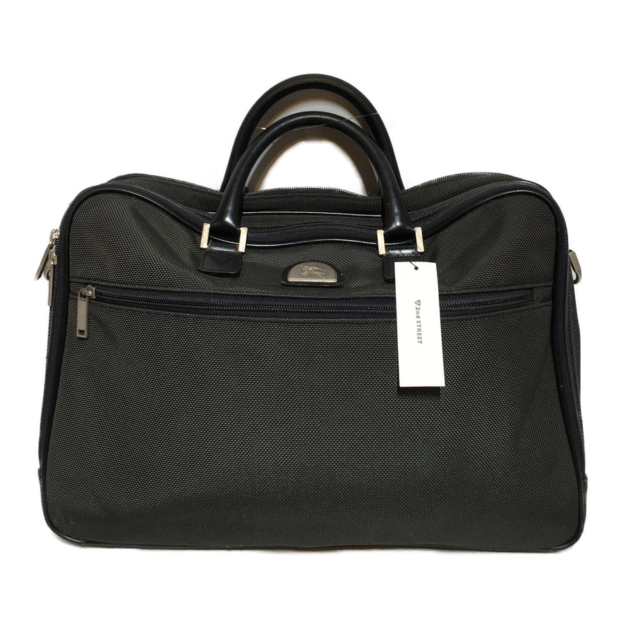 BURBERRY LONDON/Briefcase/GRY