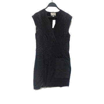 Acne Studios(Acne)//Tunic Dress/34/BLK/Cotton/Plain