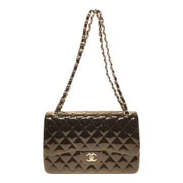 CHANEL//Hand Bag//BLK/Leather/Plain