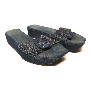 Stephane Kelian//Sandals/EU37/IDG/Denim/Plain
