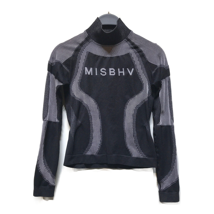 MISBHV/Sweatshirt/XS/BLK/Cotton/All Over Print