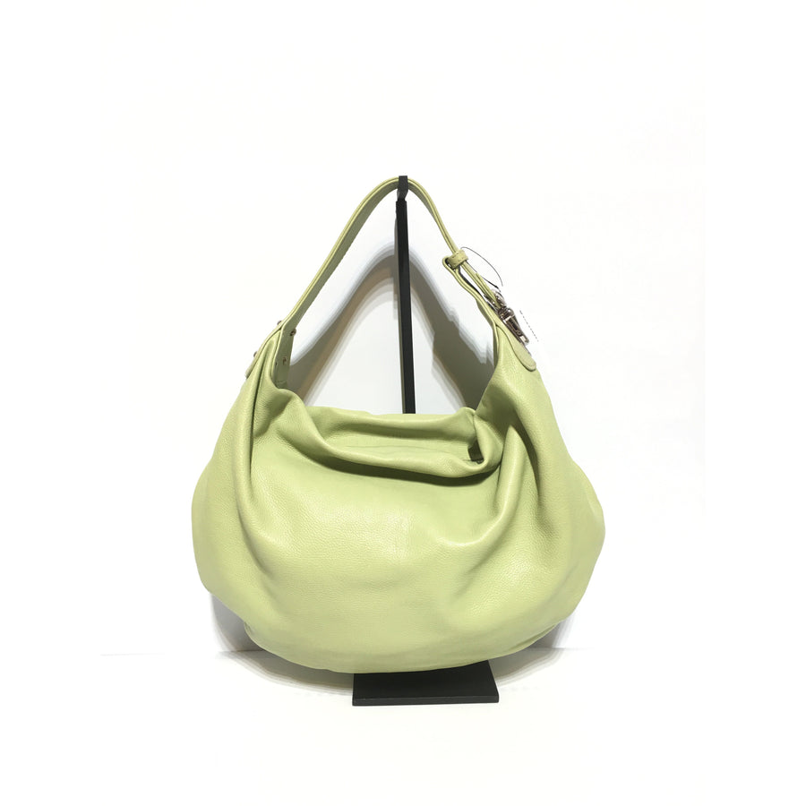 MARC JACOBS/Hand Bag/GRN/Leather/Plain