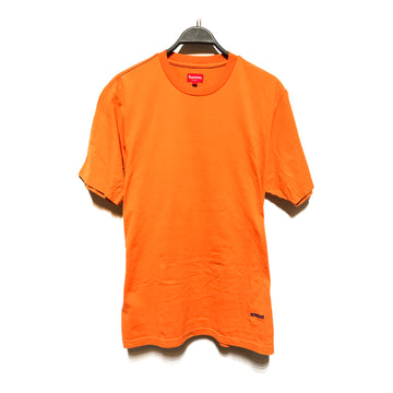 Supreme/ORANGE PLAIN/T-Shirt/./ORN/Cotton/Plain