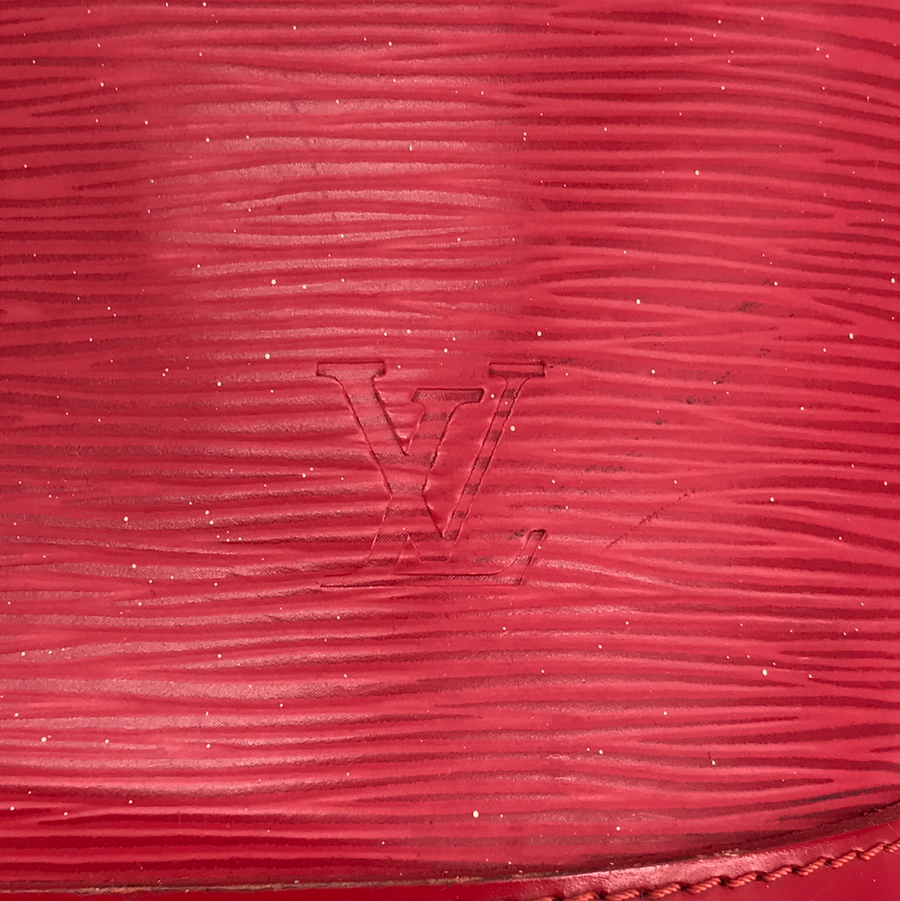 LOUIS VUITTON/EPI/Bag//RED/Leather/Plain