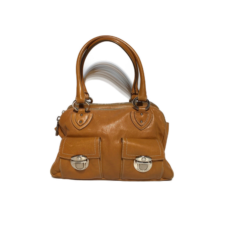MARC JACOBS//Bag//YEL/Leather/Plain