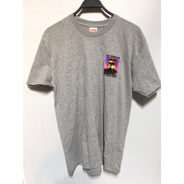 Supreme/XL/T-Shirt/GRY/Cotton/Graphic
