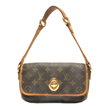 LOUIS VUITTON/POCHETTE/Hand Bag//BRW/Leather/Monogram