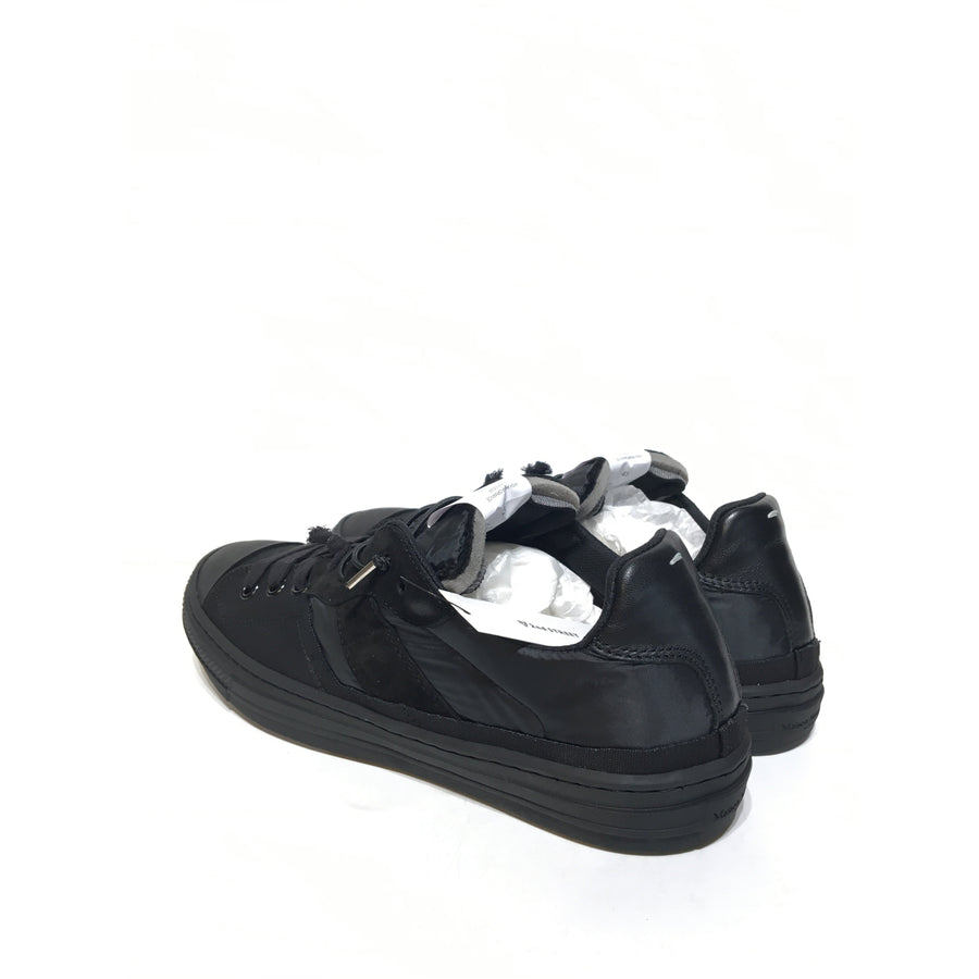 Martin Margiela/45/Low-Sneakers/BLK/Others/Plain