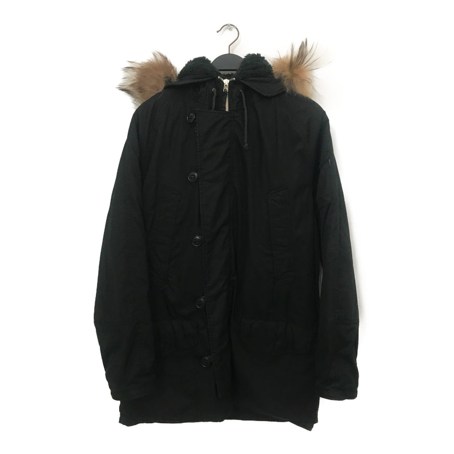 #Supreme/Mod Coat/XL/Cotton/BLK