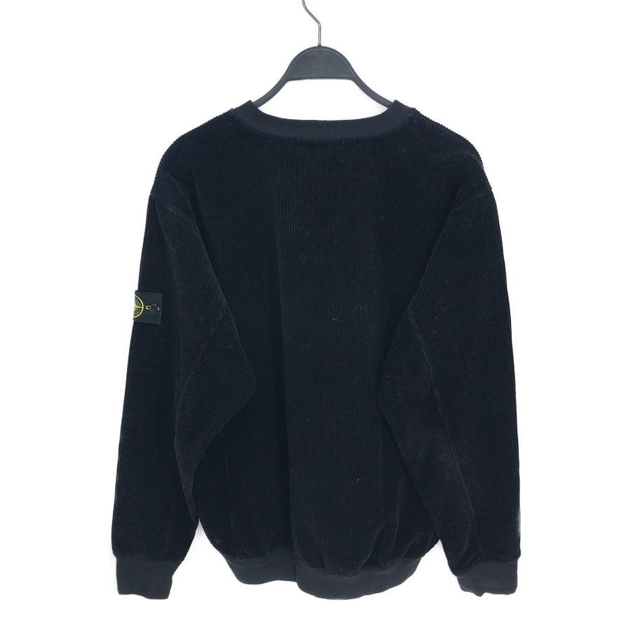 STONE ISLAND//Sweatshirt/XXL/BLK/Others/Plain