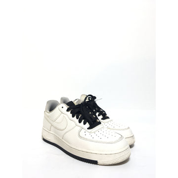 NIKE/8.5/Low-Sneakers/WHT/Leather/Plain