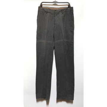 Maison Margiela/50/Straight Pants/GRY/Cotton/Plain