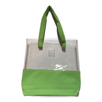 PLEATS PLEASE ISSEY MIYAKE/PVC/Tote Bag//GRN/Others/Plain