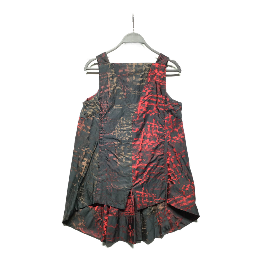 MARITHE FRANCOIS GIRBAUD//SS Dress/S/MLT/Polyester/All Over Print