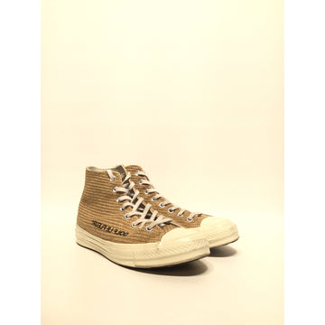 CONVERSE/US8/Hi-Sneakers/BEG/Cotton/Plain