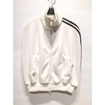 Y-3/Track Jacket/XS/Polyester/WHT