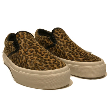 JUNYA WATANABE COMME des GARCONS//Low-Sneakers/37/BRW/Cotton/Leopard