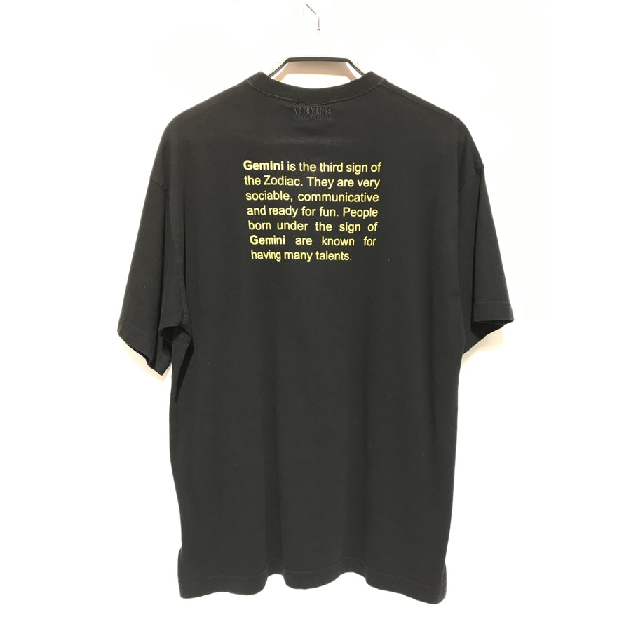 VETEMENTS/S/T-Shirt