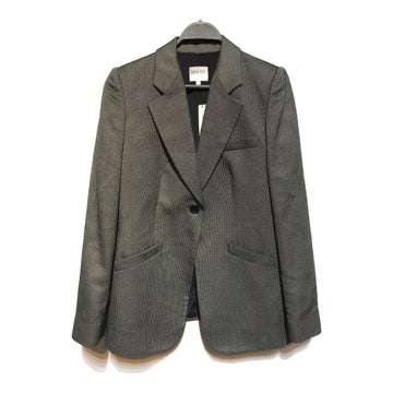 ARMANI COLLEZIONI//Tailored Jkt/6/SLV/Others/Plain