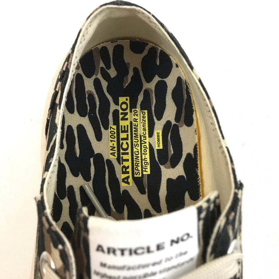 ARTICLE NUMBER//Low-Sneakers/10/MLT/Cotton/Animal Pattern