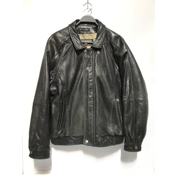 Wilsons Leather/XL/Leather Jkt/BLK/Leather/Plain