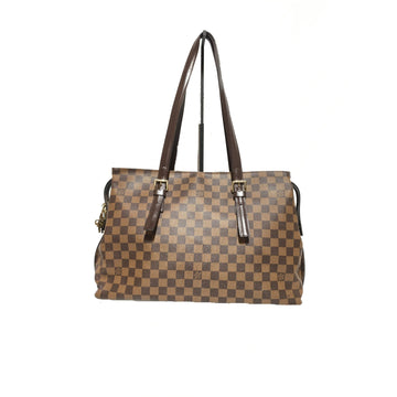 LOUIS VUITTON/CHELSEA/Damier/Tote Bag/BRW/Others/All Over Print