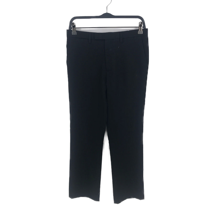 RAF SIMONS//Pants/48/BLK/Cotton/Plain