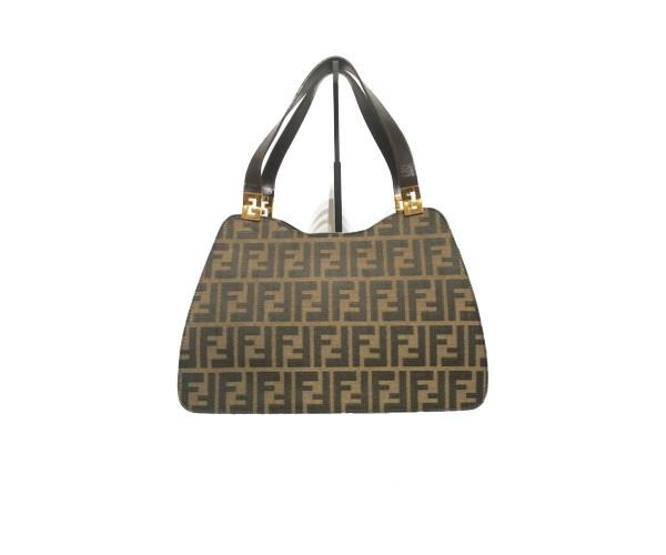 FENDI/hand bag/canvas/BRW