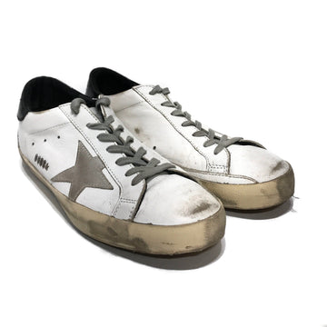 GOLDEN GOOSE//Low-Sneakers/41/WHT/Leather/Plain