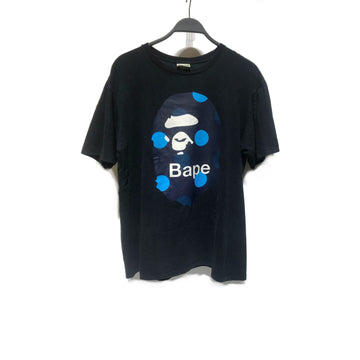 BAPE//T-Shirt/XL/BLK/Cotton/Graphic
