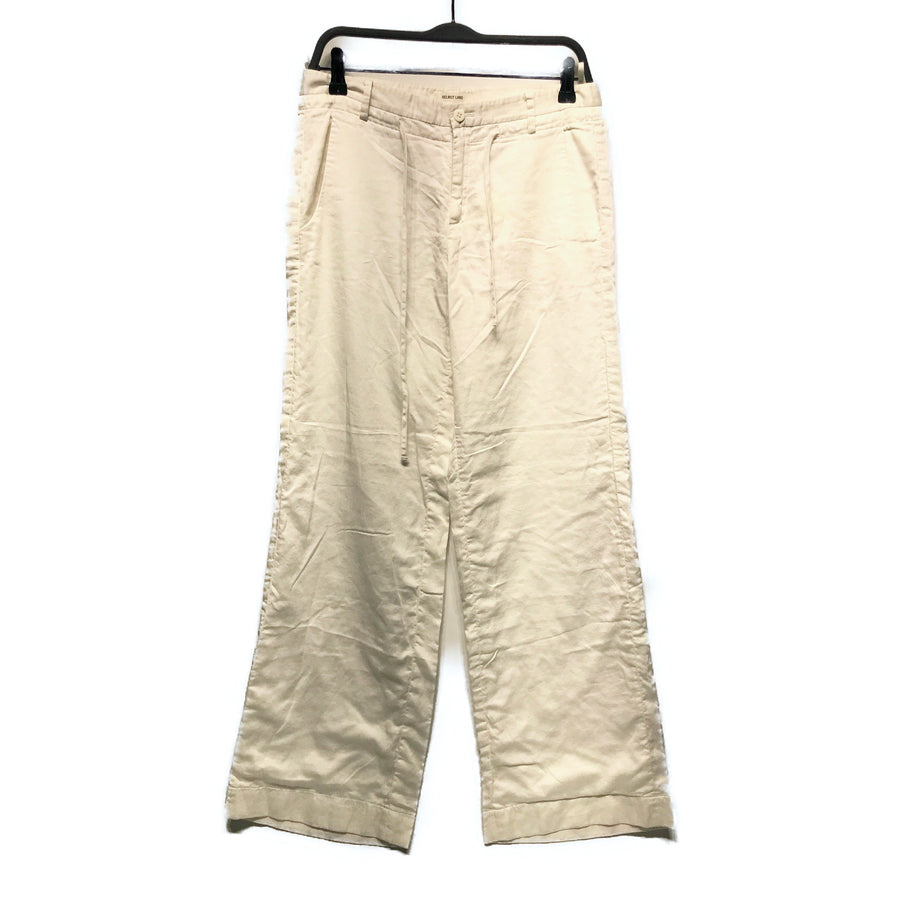 Helmut Lang//Bottoms/4/WHT/Cotton/Plain