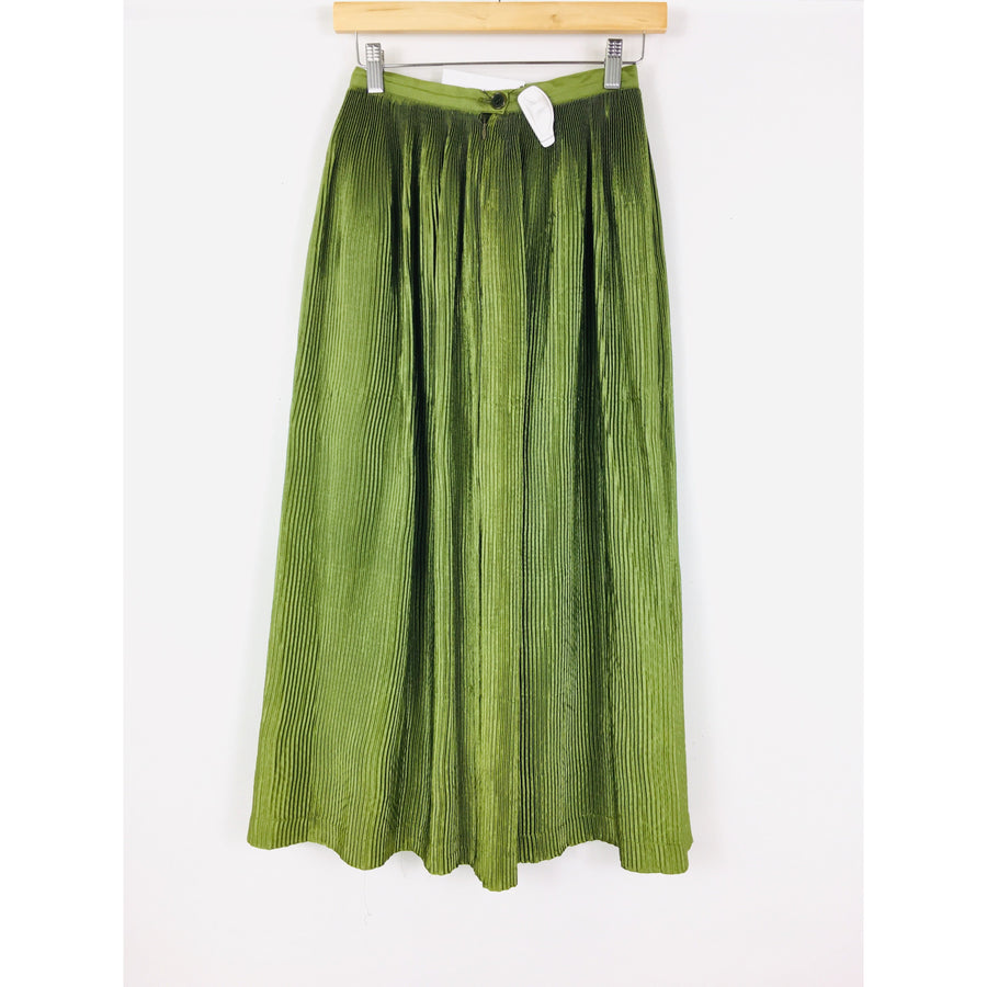 Ys/Long Skirt/Polyester/GRN