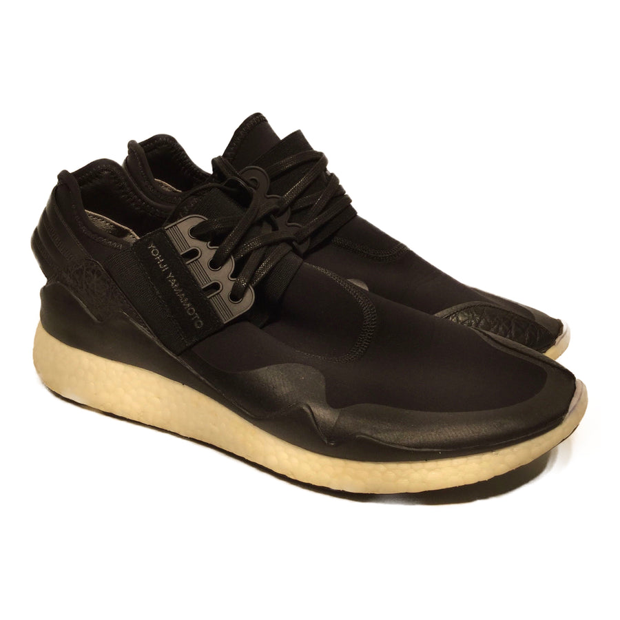 Y-3//Low-Sneakers/US10.5/BLK/Cotton/Plain