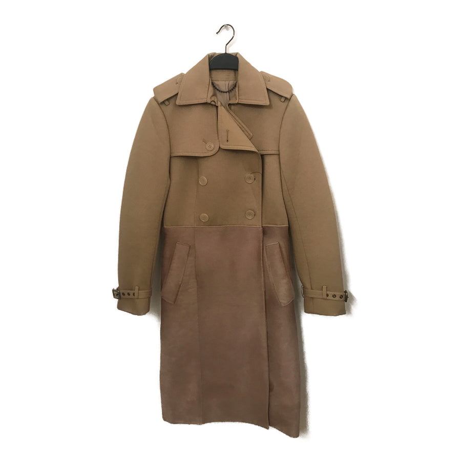 COACH//Trench Coat/F/BEG/Cotton/Plain