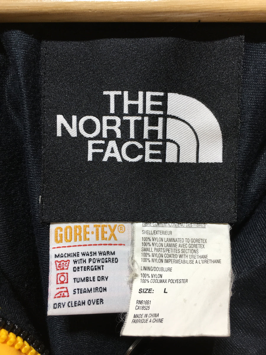THE NORTH FACE/Mountain Guide Jacket/L/Mountain Parka/YEL/Nylon