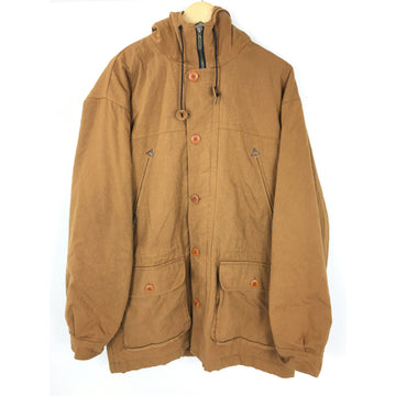 L.L.Bean/L/Mountain Parka/BRW/Cotton/Plain