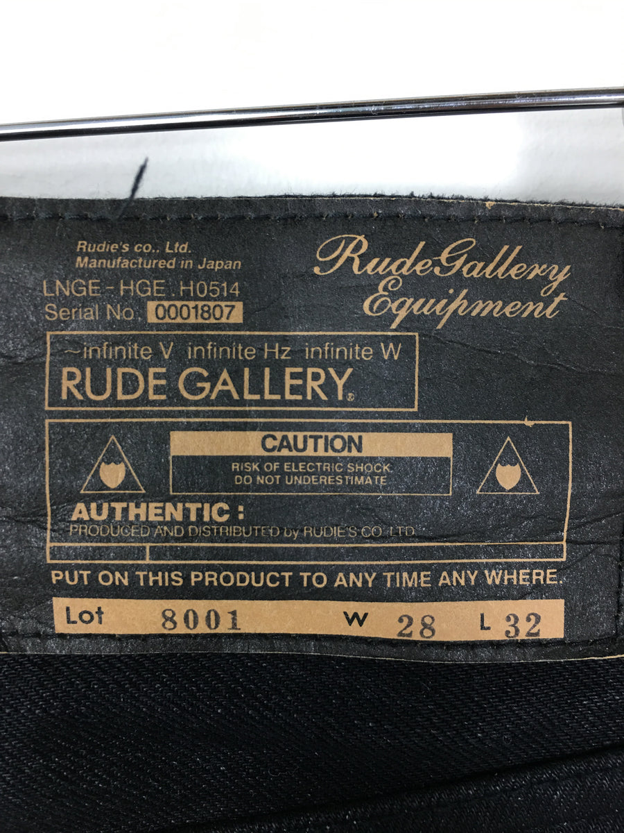 RUDE GALLERY/Bottoms/2/BLK