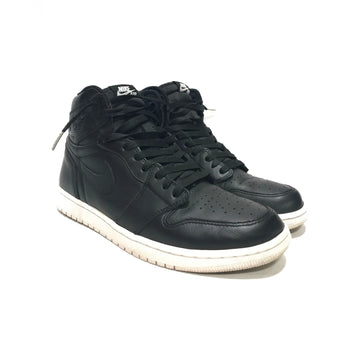 Jordan/1 RETRO CYBER MONDAY 2015/Hi-Sneakers/US10.5/BLK/Leather/Plain