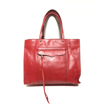 REBECCA MINKOFF//Hand Bag/RED/Leather/Plain