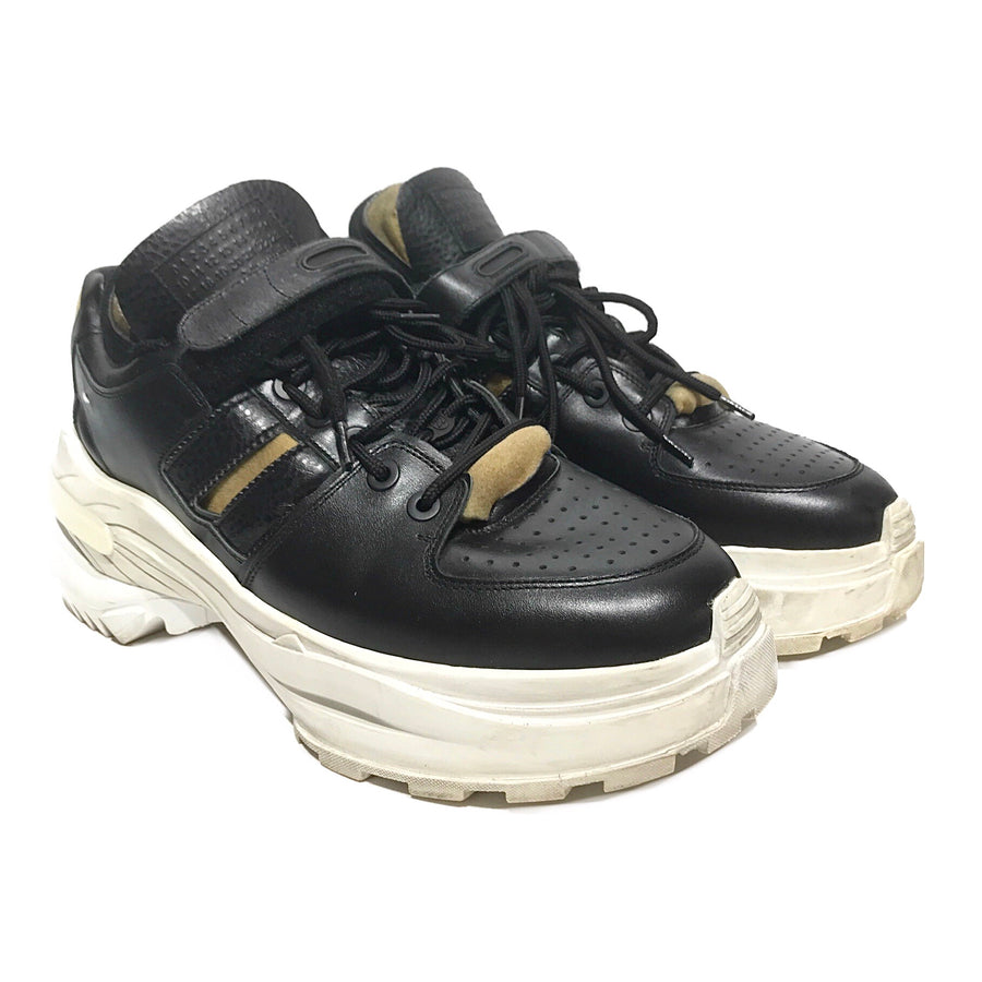 Maison Margiela//Low-Sneakers/12/BLK/Others/Plain