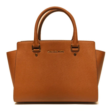 MICHAEL KORS//Hand Bag//BRW/Faux Leather/Plain