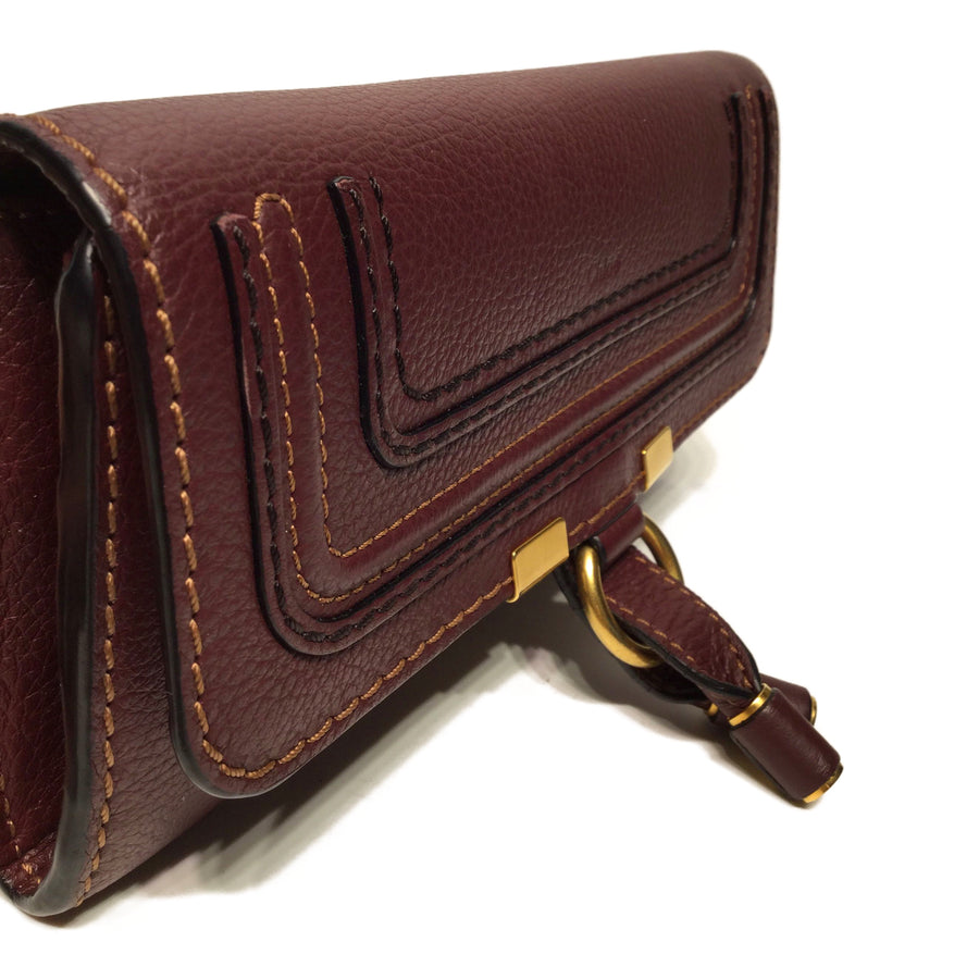 Chloe//Long Wallet//BRD/Leather/Plain