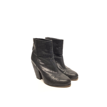 rag&bone/7/Booties/BLK/Leather/Plain