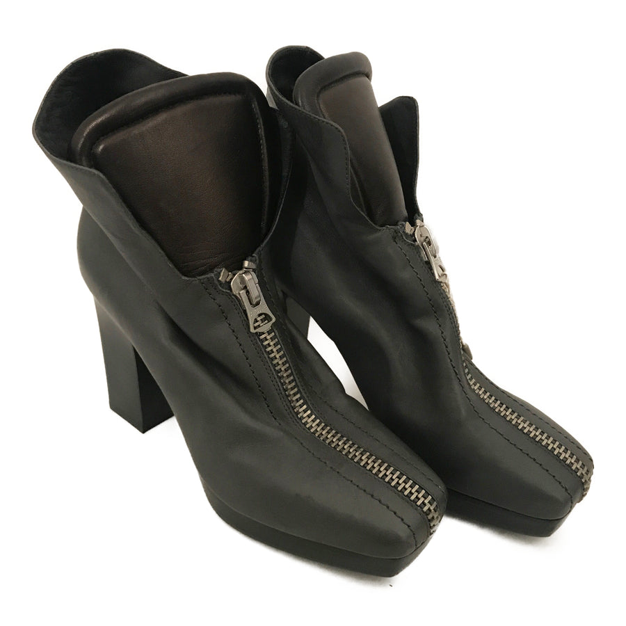 Acne Studios(Acne)//Ankle Boots/39/NVY/Leather/Plain
