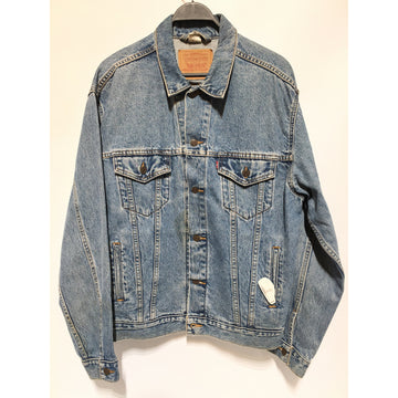 Levi's/L/Denim Jkt/BLU/Denim/Plain