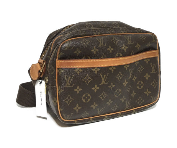 LOUIS VUITTON/Reporter PM/Cross Body Bag/BRW/Others/Monogram