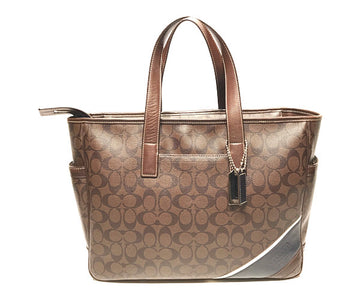 COACH//Tote Bag//BRW/Leather/Monogram