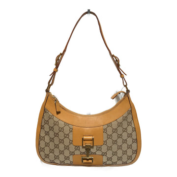 GUCCI/MONOGRAM CANVAS/Hand Bag//BRW/Cotton/Monogram