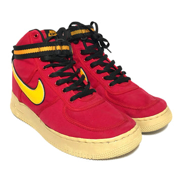 NIKE/VANDAL HIGH SUPREME/Hi-Sneakers/US11/RED/Cotton/Plain