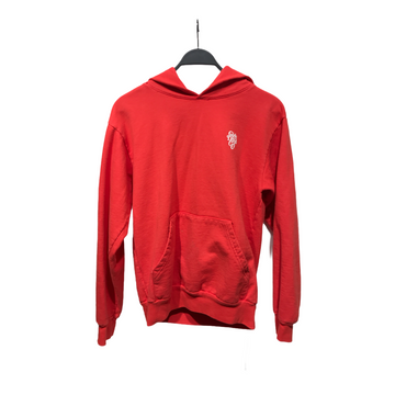 Girls Dont Cry//Hoodie/S/RED/Cotton/Plain